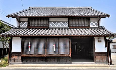 写真:作州城東屋敷